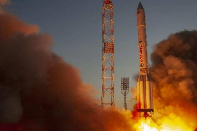 俄罗斯鸽王——科学号实验舱从拜科努尔起飞了